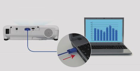 自動開機,直接關機 - Epson CB-E01E產品功能