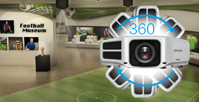 360度灵活安装 - Epson CB-G7100 NL产品功能
