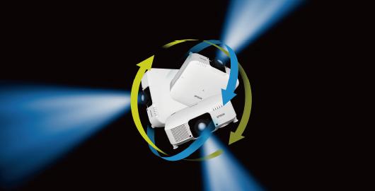 360度全方位安装  - Epson CB-L1060U产品功能