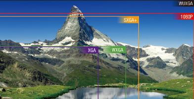 WUXGA分辨率 - Epson CB-L1060U产品功能