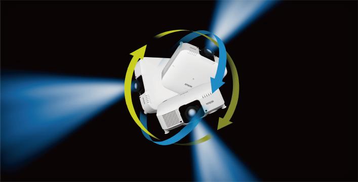 360度全方位安装 - Epson CB-L1060W产品功能