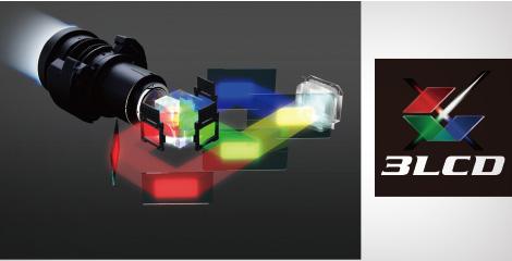 3LCD技术带来高品质影像 - Epson CB-L1070U产品功能