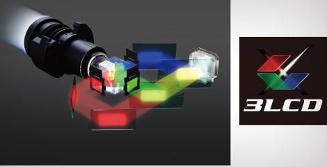 3LCD技術帶來高品質影像 - Epson CB-L1070W產品功能