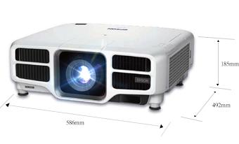 产品外观尺寸 - Epson CB-L1200U产品规格
