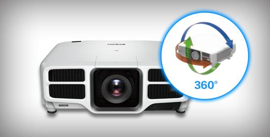 360度全方位安装 - Epson CB-L1200U产品功能