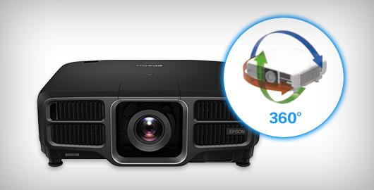 360度全方位安裝 - Epson CB-L1505U產品功能