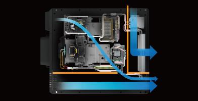 液态冷却系统 - Epson CB-L20000U产品功能