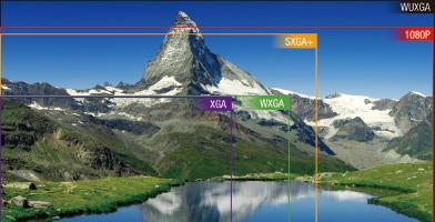 WUXGA分辨率 - Epson CB-L20000U產品功能