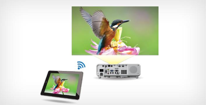 屏幕镜像功能 - Epson CB-L200F产品功能