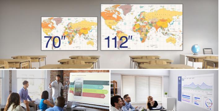 112 英寸超大画面投影 - Epson CB-L200SX产品功能