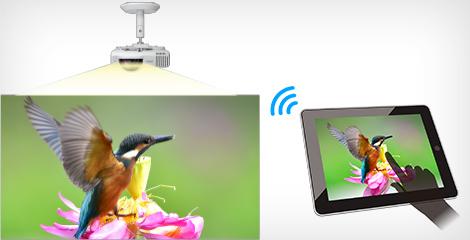 屏幕镜像 - Epson CB-L200SX产品功能