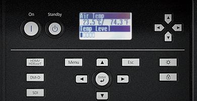 状态监控屏 - Epson CB-L25000产品功能
