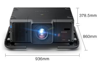 產品外觀尺寸 - Epson CB-L25000產品規格