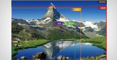 WUXGA分辨率-超越全高清 - Epson CB-L25000产品功能