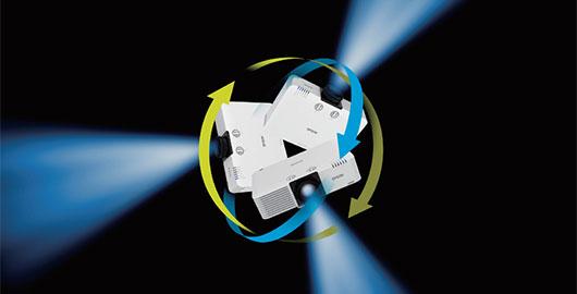 360度全方位安装 - Epson CB-L500W产品功能