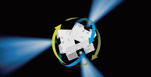 360度全方位 - Epson CB-L610U产品功能