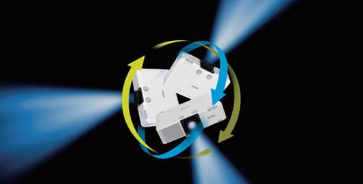 360度全方位 - Epson CB-L610W產品功能