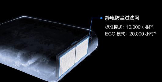 全面升级的防尘功能 - Epson CB-X50产品功能