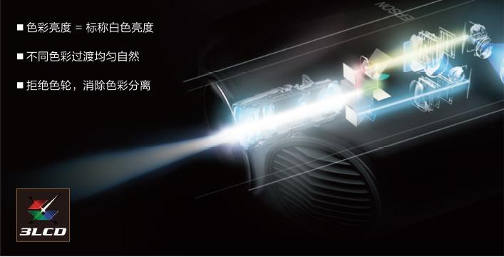 忠实于色彩,精准呈现原画 - Epson CH-TW750产品功能