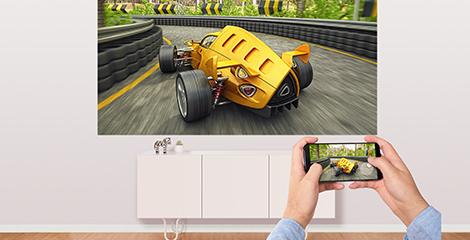 Miracast屏幕镜像,大屏游戏观影更欢乐 - Epson CH-TW750产品功能