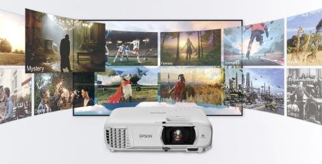 搭配电视盒子,秒变智慧大屏电视 - Epson CH-TW750产品功能