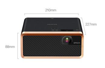 产品外观尺寸 - Epson EF-100B 产品规格