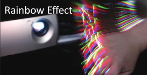 无彩虹现象和色阶断层 - Epson EV-115产品功能
