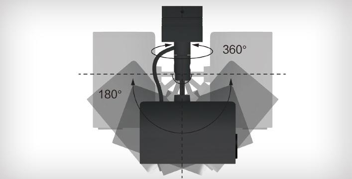360度投影 - Epson EV-115产品功能