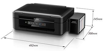产品外观尺寸 - Epson 墨仓式<sup>®</sup>L365产品规格