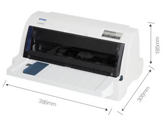 产品外观尺寸 - Epson LQ-635KII产品规格