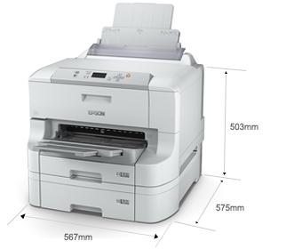 产品外观尺寸 - Epson WF-8093产品规格